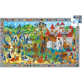 Puzzle - Knights - 54 pcs