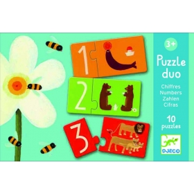 Duo-Trio puzzles - Numbers
