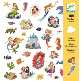 Small gift - Stickers - Mermaids