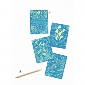 Small gifts - Scratch cards - Sea life