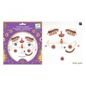 Face stickers - Princess India