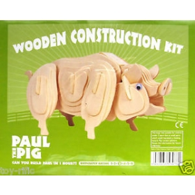 Construction Kit: Paul the Pig