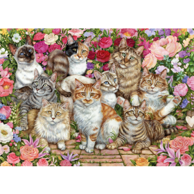 "Pusle ""Floral Cats"" 1000 tk"
