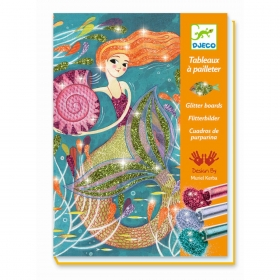 Glitter boards - Mermaids