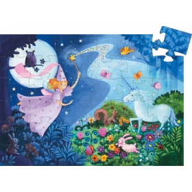 Puzzle: The fairy and the unicorn