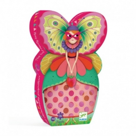 Silhouette puzzles - The butterfly lady - 36pcs
