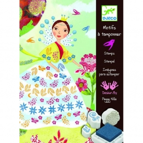 Stamps - Flower maidens