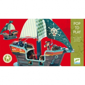 Pop to play - Pirate boat 3D
