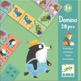Educational games - Domino - Animals
