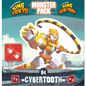 King of Tokyo - Monster Pack : Cybertooth