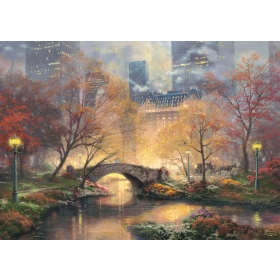 Autumn in Central Park, Glow in the Dark, 1000 pcs