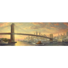 "Pusle ""Brooklyn Bridge, New York"" 1000 tk"