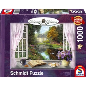 """Pusle """"View of the Castle Gardens"""" 1000 tk"""